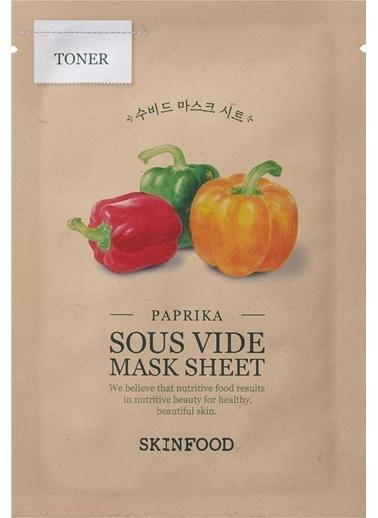 Skinfood Paprika Sous Vide Mask Sheet Renksiz